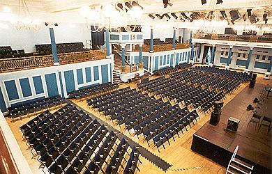 Leas Cliff Hall, Folkestone   Seating Plan, view the seating chart for the  Leas Cliff Hall